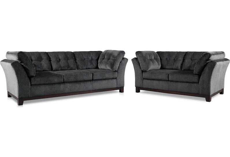 melrose gray  pc living room