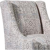 melrose light brown accent chair