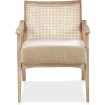 menlo light brown accent chair