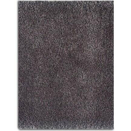Merino Plush Shag 8 x 10 Area Rug - Gray