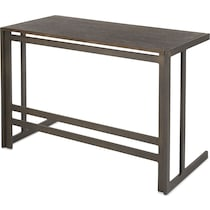 miles antique metal desk