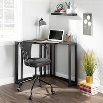 miles black desk