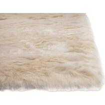 mink white area rug ' x '
