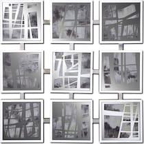 mixed emotions glass wall art