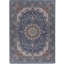 mongo blue area rug ' x '