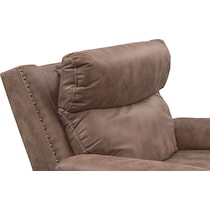 montana power light brown power recliner