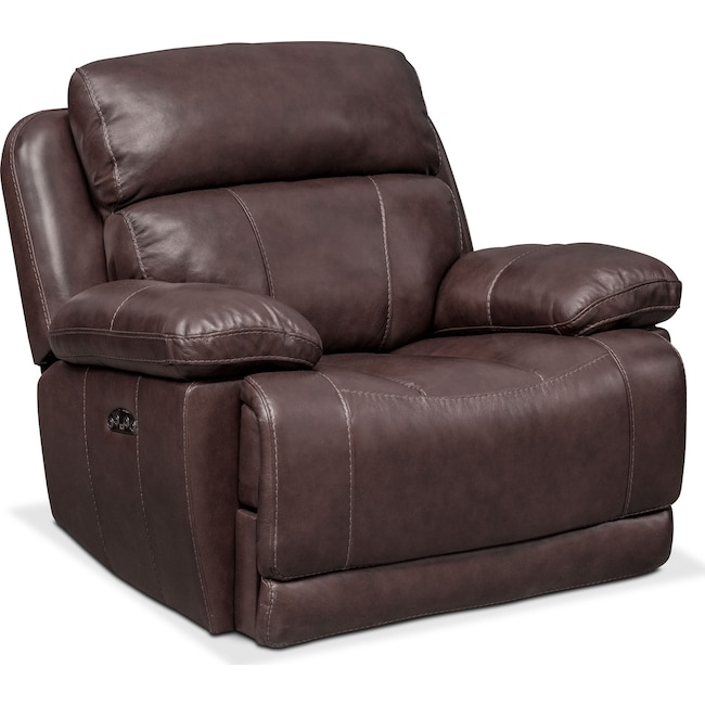 Living Room Furniture - Monte Carlo Dual-Power Recliner