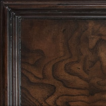 monticello pecan dark brown chest