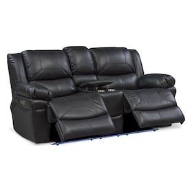 Monza Dual-Power Reclining Loveseat