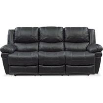monza power black power reclining sofa
