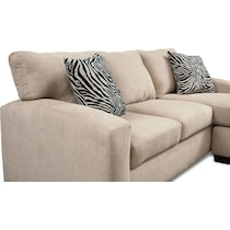 nala light brown  pc sectional
