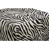 nala zebra ottoman