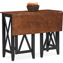nantucket counter height cherry black and cherry breakfast bar