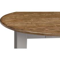 nantucket dining oak light brown drop leaf dining table