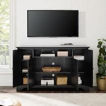 nathaniel black tv stand
