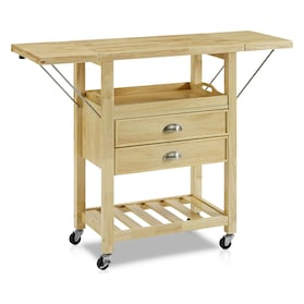 Nell Drop-Leaf Kitchen Cart