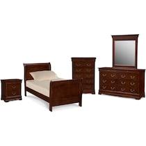 neo classic youth cherry kids furniture main image