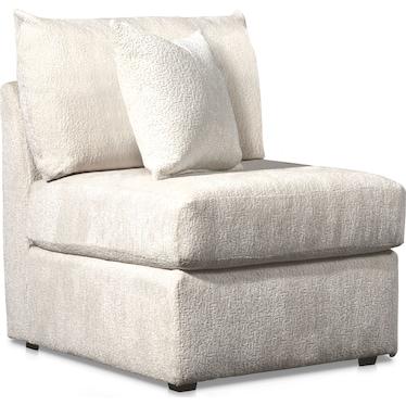 Nest Armless Chair - Ivory