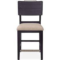 new haven ch black counter height stool
