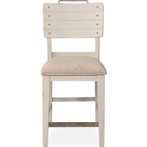 new haven ch white counter height stool