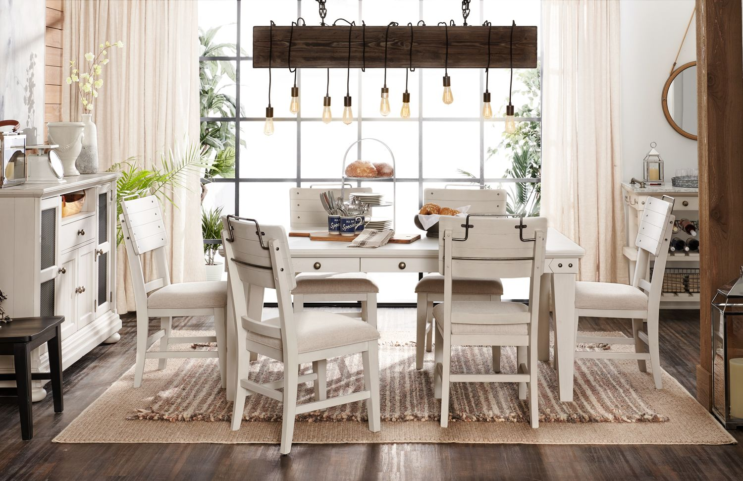 The New Haven Dining Collection American Signature Furniture