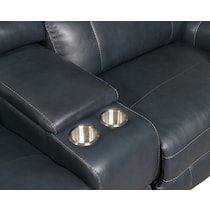 newport blue power reclining sectional