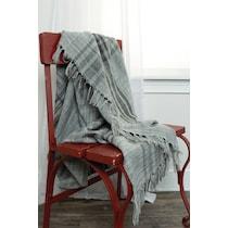 nikau gray blanket