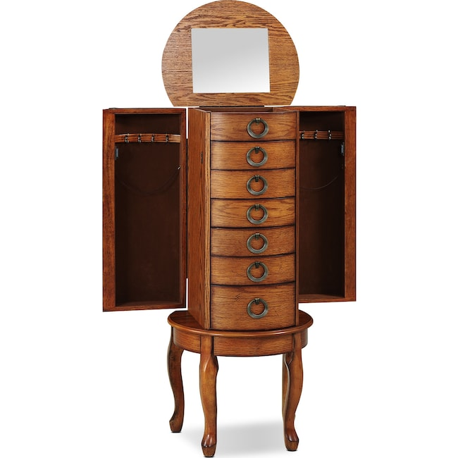 Accent and Occasional Furniture - Niles Jewelry Armoire