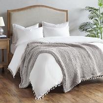 nora gray blanket
