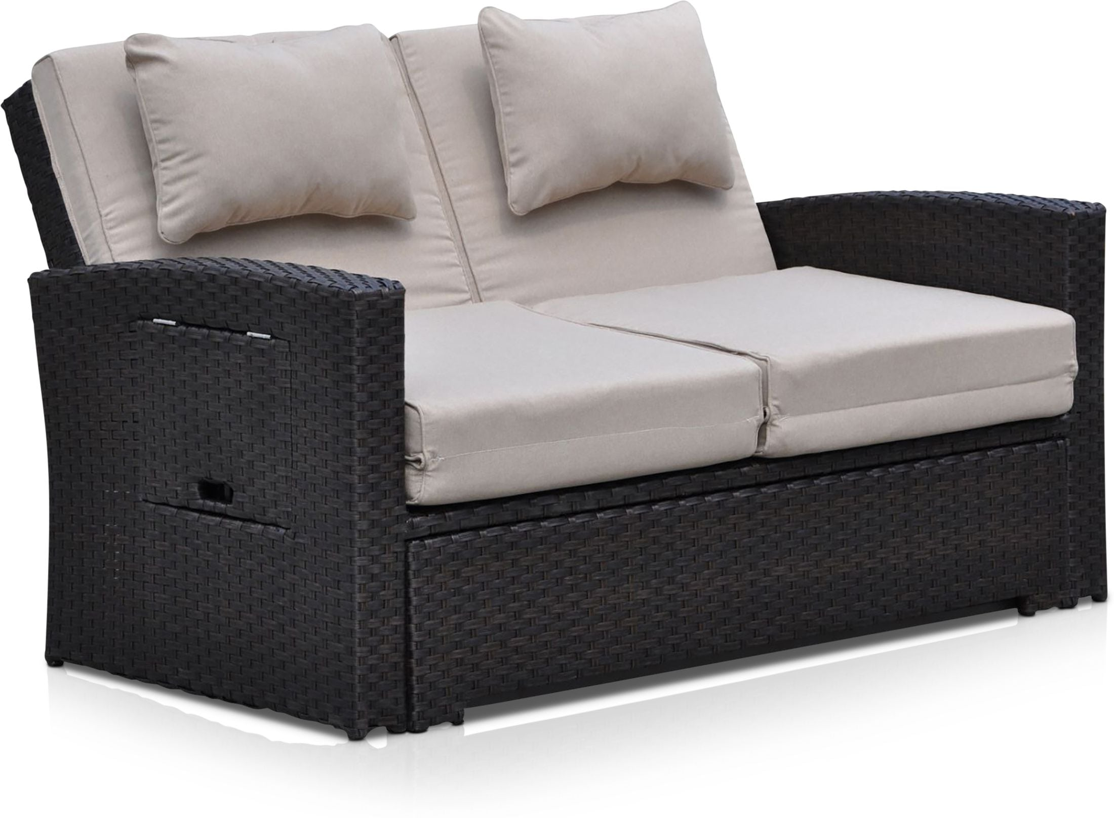 Outdoor Furniture - Northport Outdoor Convertible Loveseat