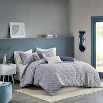 oakley blue full queen bedding set