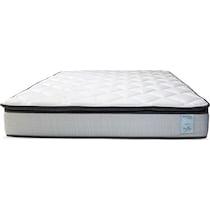 oasis plush white full mattress