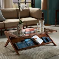 ojai light brown coffee table