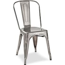 oliver dining gray dining chair
