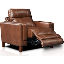 oliver dark brown  pc power reclining living room