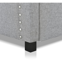 ophelia gray twin daybed with trundle