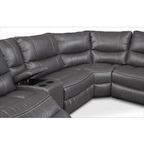 orlando gray  pc power reclining sectional