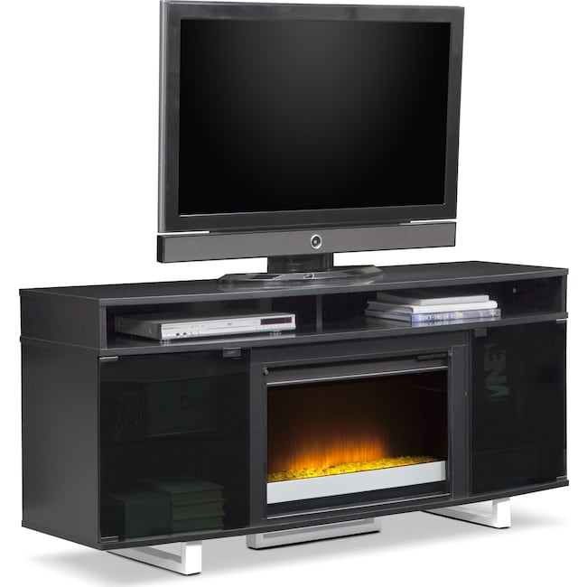 Entertainment Furniture - Pacer Fireplace TV Stand