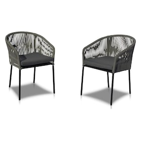 Paloma Set of 2 Outdoor Dining Chairs