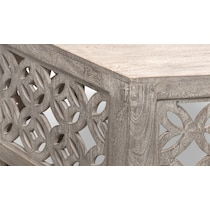 parlor gray coffee table