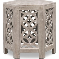 parlor gray end table