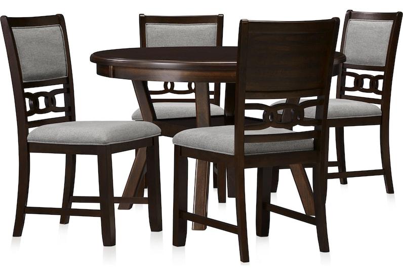 pearson dark brown  pc dining room