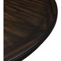 pearson dark brown dining table