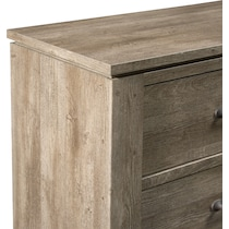 perry light brown chest