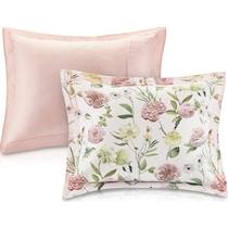 raquel pink twin bedding set