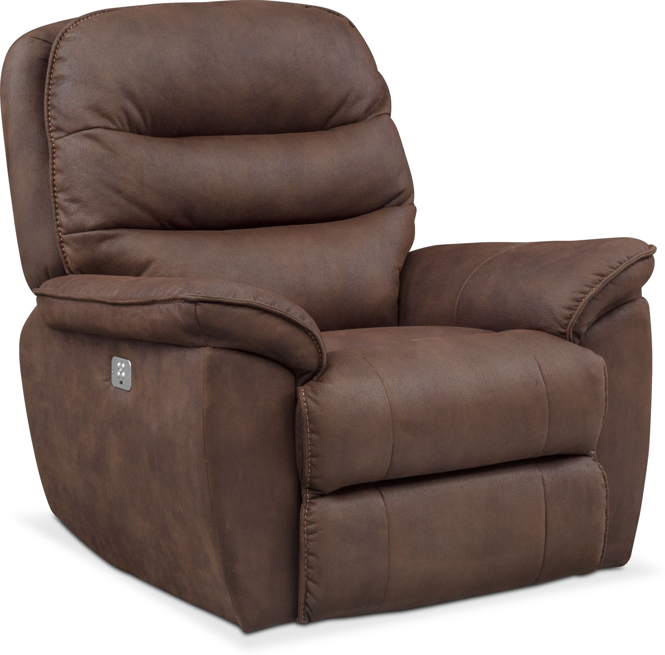 Living Room Furniture - Regis Dual-Power Recliner