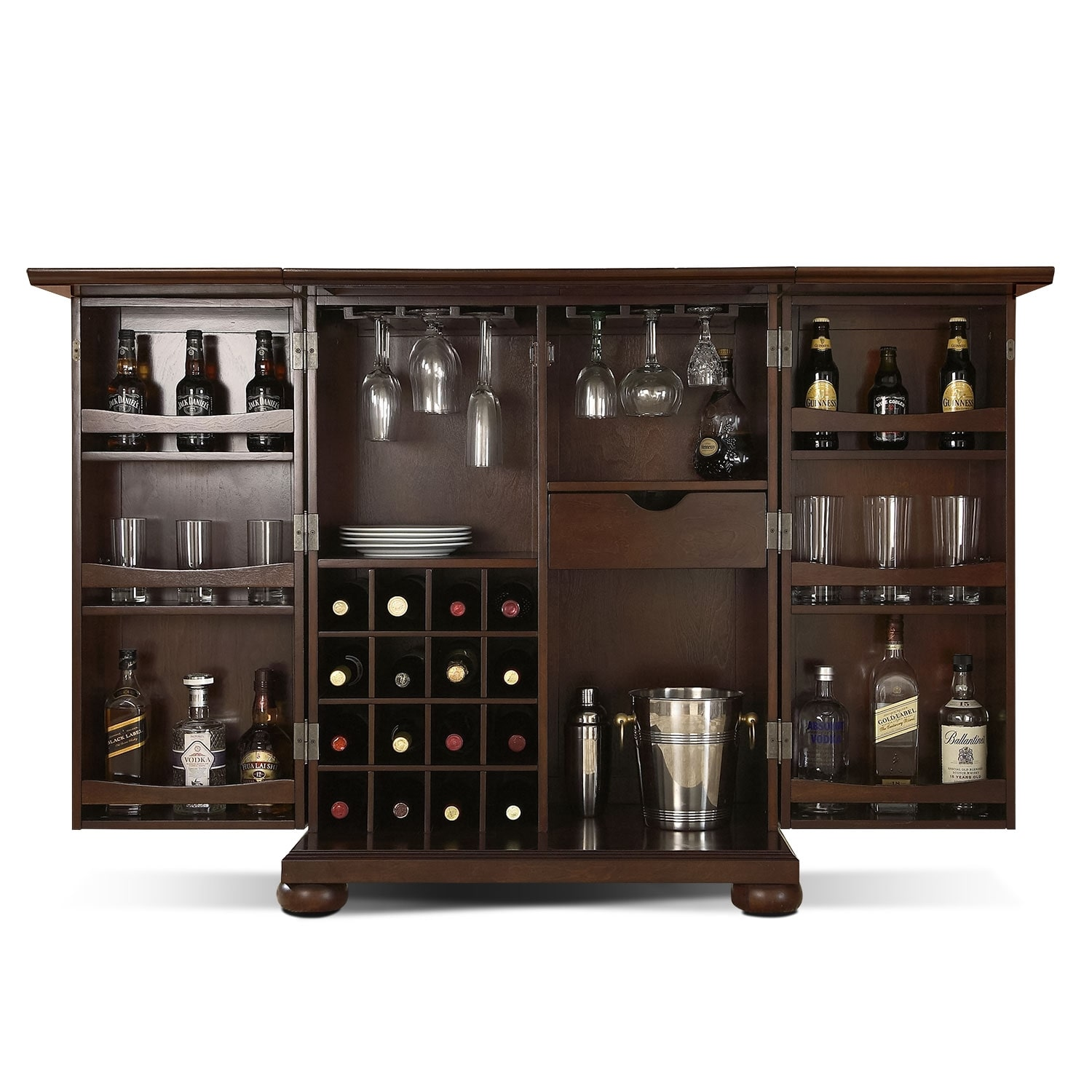 Accent and Occasional Furniture - Renzo Bar Cabinet