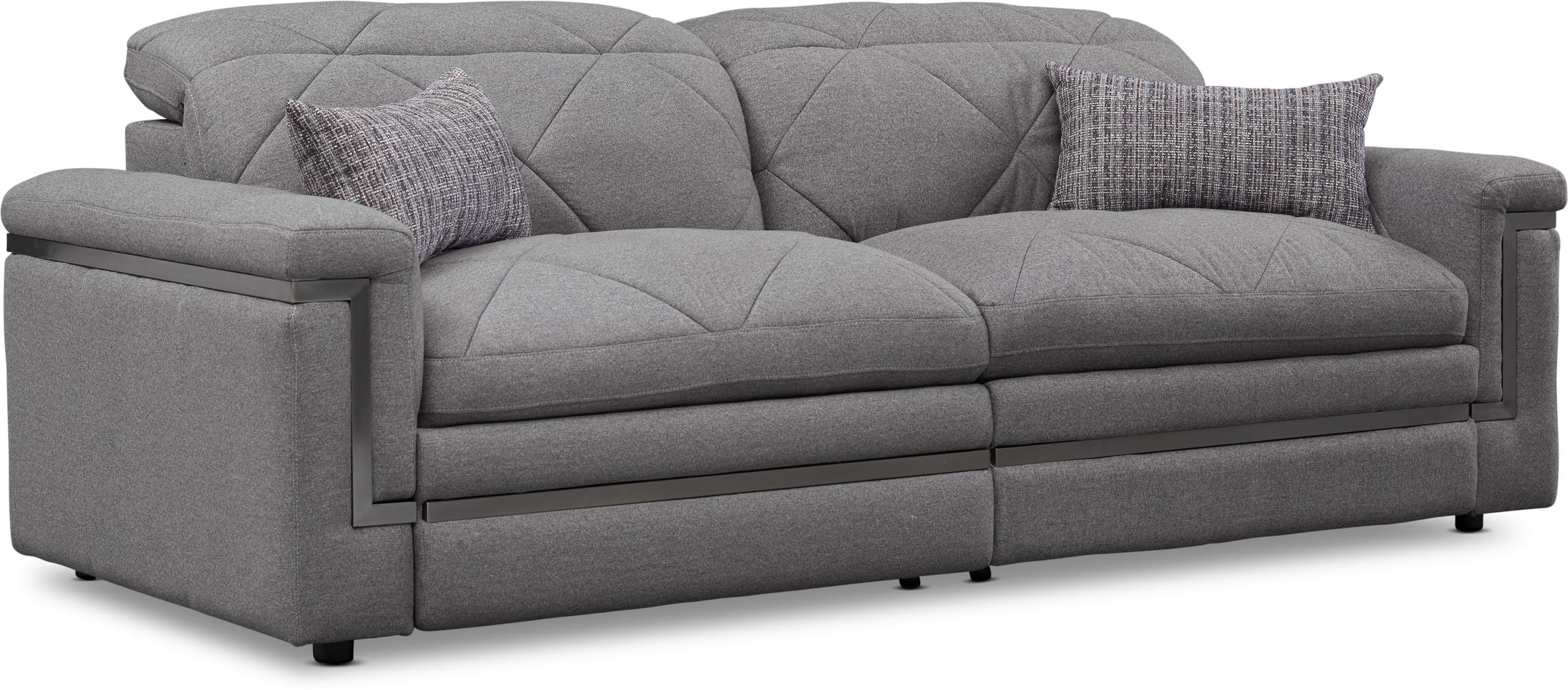 Living Room Furniture - Revel 2-Piece Dual-Power Reclining Sofa