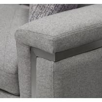 revel gray  pc power reclining sofa