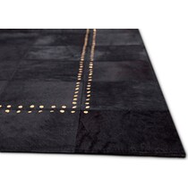 rhys black area rug ' x '